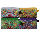 Hmong Hilltribe Ladies Zip Boho Short Wallet Butterfly Design from Thailand