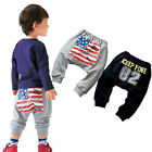 2015 Top Quality Kids Boys New Fashion Spring Fall Cotton Harem Pants Trousers
