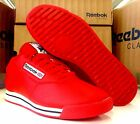 Reebok Classic Princess LE Leather J95025 Red Athletic Running Shoes Women's