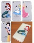 for iPhone 6 / 6S - SOFT TPU RUBBER SILICONE SKIN CASE COVER DISNEY PRINCESS