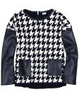 Mayoral Junior Girl's Houndstooth Knit Sweater, Size  8, 10, 12, 14, 16