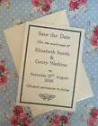 10 x Personalised Save the Date Cards- Weddings