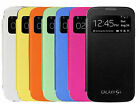 NEW S VIEW BATTERY BACK FLIP CASE FOR SAMSUNG GALAXY S4   + SCREEN GUARD