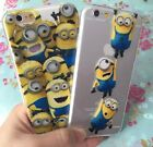 for iPhone 6 / 6S - SOFT CLEAR TPU RUBBER SILICONE SKIN CASE COVER CUTE CARTOONS