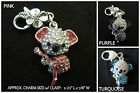 Crystal Koala Bear Charm Clasp *OPTION* Koala Bear Cell Phone Charm