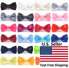 Внешний вид - Classic 35-Color Fashion Men's Adjustable Tuxedo Bowtie Wedding Bow Tie Necktie