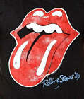 The Rolling Stones '89 Tongue Andy Warhol Logo rock T-Shirt L XL 2XL NWT