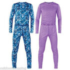 Terramar Polypro Boys/Girls 2 Piece Set - Polypropylene 1X1 Spun Rib