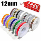 """12mm 1/2"""" PIN STRIPE PinStriping SINGLE Line TAPE Decal Stickers Car Motorcycles"""