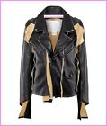 Maison Martin Margiela H&M Leather Biker Jacket UK 12 New Tags BNWT