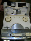 Vintage Wollensak T-1616 Reel to Reel Tape Recorder with microphone