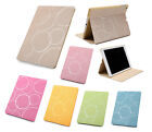 KAMI Luxury Matte Leather Smart Case Stand Magnetic Cover for iPad2 3 4 Mini Air