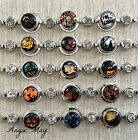 Halloween Chunk Noosa Ginger Style Snap Buttons Charms Interchangeable Bracelet