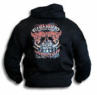 El Bandito Custom Cycles Bandit Hoody Hooded Top Front or Rear Print Sm -2XL