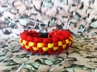 Fire Service 550 Paracord Survival Bracelet / Dog Collar Fire Fighter