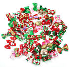 New Christmas Dog Bows Pet Charms Bows Pet Dog Grooming Hair Bows Accessories