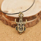 Black leather cord  Amulet Pendant Men And Women Wholesale Brand New