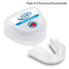 2 x GAME GUARD Rugby Mouth Guard FLAVOURED, Gum shield, Boxing, Hockey, GAA, MMA