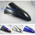 Double Bubble Windscreen Windshield For YAMAHA YZF 1000 R1 2000-2001 ABS 6 Color