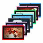 "Tablet Pc 7"" Hd Android 4.4 A33 Quad Core 16gb Dual Camera Wifi For Kids Gift"