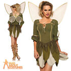 Adult Rebel Tinkerbell Costume Sexy Ladies Fairy Pixie Fancy Dress by Leg Avenue