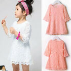 Trendy KidsToddler Baby Lace Princess Party Novelty Skirt Clothes Pink Hot Sell