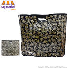Strong Black & Gold Printed Carrier Bags   Fashion/Gift/Boutique/Jewellery/Party