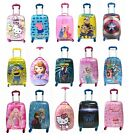 Children Kids Holiday Travel Hard Shell Suitcase Luggage Trolley Bags NEW