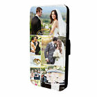 Personalised flip wallet phone case cover for iPhone 8 X5SE 7 6S 8+Galaxy S6 +S8