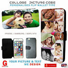Kyпить Personalised flip wallet phone case cover for iPhone 5SE 7 6S 7+,Galaxy S6 S7 J5 на еВаy.соm
