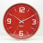 "Moderne 21"" Wall Clock by Wolf"