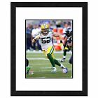 Clay Matthews 2014 Tracking the Ball Framed Photograph
