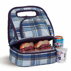 Savoy Insulated Lunch Bag with Storage Container by Picnic Plus