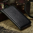 Genuine Real Cow Leather Magnetic Cover ID Card Case For Apple iPhone 6 6S plus