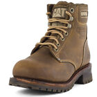 Caterpillar Sequoia 6 Mens Leather Beige Boots