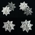 1Pc Crystal Sew Iron on Rhinestone Bead Applique for Wedding Dress Embellishment