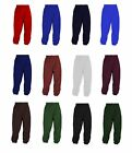 "NEW GIRLS BOYS KIDS ADULTS PE GYM SCHOOL UNIFORM JOG BOTTOMS SIZE 20"" WAIST - XL"