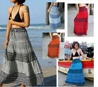 Long Skirt-Gypsy  -Boho-Summer-Lightweight-Striped -Various Colours