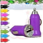 NEW CHRISTMAS,NEW YEAR  GIFT CE 1.5V USB IN CAR BULLET CHARGER ADAPTE FOR PHONES