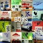 Boys Wall Stickers - Home Art Decor - Self Adhesive Vinyl Transfer / Decal 2