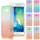 Soft TPU Silicone Clear Transparent Case Cover For Various Samsung Galaxy Phone