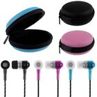 3.5mm In-Ear Stereo Earbuds Earphone Headset Headphone + Bag For iPhone Samsung