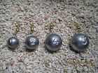 Cannon ball sinkers small sizes  1oz to  12oz