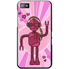 Retro Hipster Robots Hard Case For Blackberry Z10