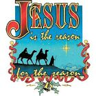 JESUS IS THE REASON FOR THE SEASON  T-SHIRT (UNISEX FIT) CHRISTMAS HOLIDAY