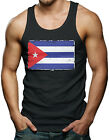 Distressed Cuban Flag - Cuba Men's Tank Top T-shirt