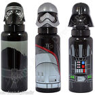 Star Wars Sculpted Lid Aluminium Bottles Darth Vadar Kylo Ren Drinks Container
