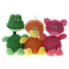 WONPET Mop Plush Animal Family with Rope Squeaky Dog Stuffed Toy Puppy Play