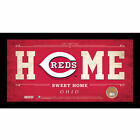 MLB Home Sweet Home Sign with Game-Used Dirt - Cincinnati Reds