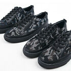ssd08142 camouflage lace-up sneakers Made in Korea